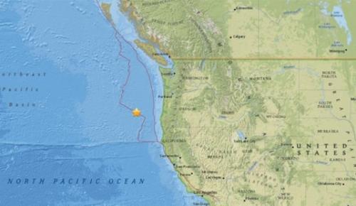 ABD açıklarında 6.3 büyüklüğünde deprem