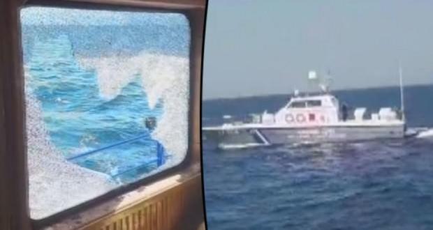 Türk balıkçılar açıkladı: Yunan askeri silah çekti