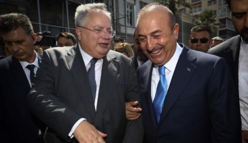 Yunan Bakan'ın şaşkınlığı Çavuşoğlu'nu gülümsetti